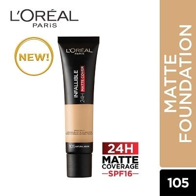 L'OREAL INFALLIBLE 24H MATTE COVER FOUNDATION